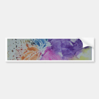Whimsical Butterfly Bumper Sticker