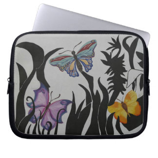 Whimsical Butterfly Laptop Sleeve