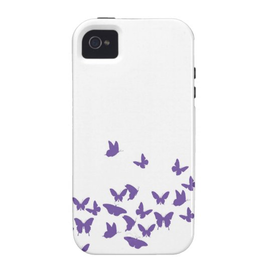 Whimsical Butterfly Vibe iPhone 4 Cover