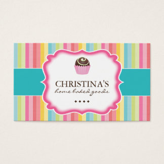 Whimsical Cake Ball Business Cards