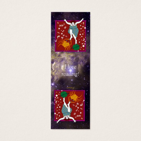 Whimsical Cancer Bookmark Card