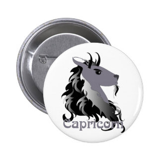 Whimsical Capricorn Buttons