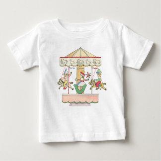 Whimsical Carousel by Tom Seidmann Freud Tshirts