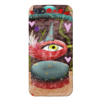 Whimsical Carrousel of Life iPhone SE/5/5s Case
