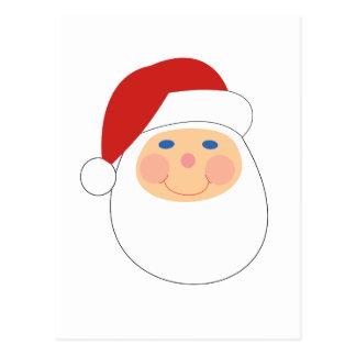Whimsical cartoon Santa t-shirts and gifts. Postcard
