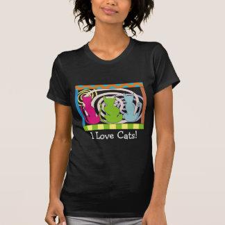 Whimsical Cat Art Gifts Shirt