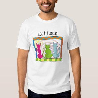 Whimsical Cat Art Gifts T-shirt