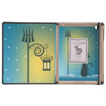 Whimsical Cat DODOcase iPad 2/3 Case iPad Folio Cases
