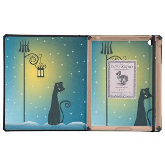 Whimsical Cat DODOcase iPad 2/3 Case iPad Cover