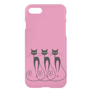 Whimsical cat iPhone 7 case