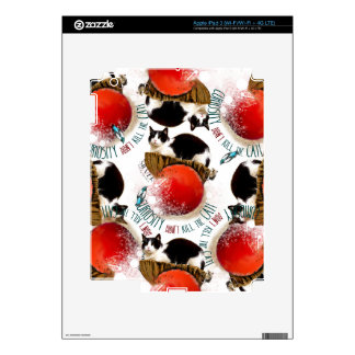 Whimsical Cat Skins For iPad 3