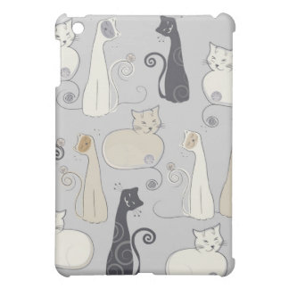 Whimsical Cats  Cover For The iPad Mini