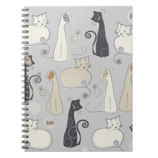 Whimsical Cats Notebook