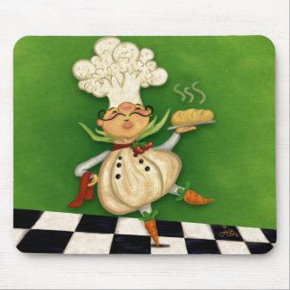Whimsical Chef Mousepad