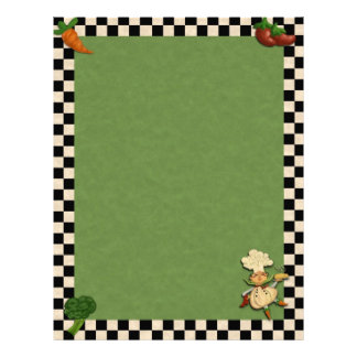 Whimsical Chef Personalized Letterhead
