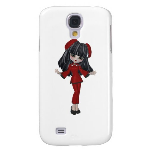 whimsical CHINA DOLL Galaxy S4 Cases