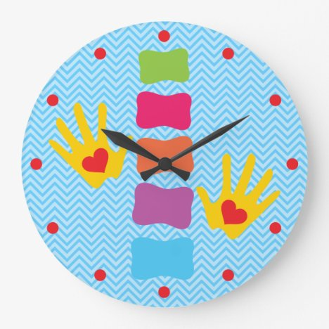 Whimsical Chiropractic Wall Clock