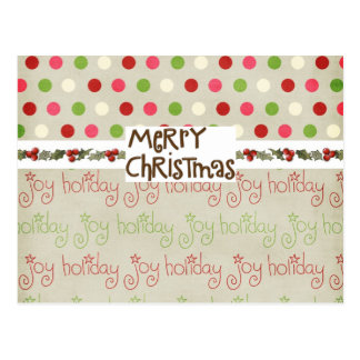 Whimsical Christmas card