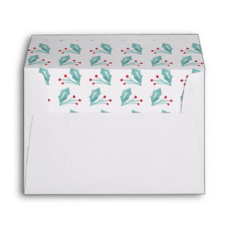 Whimsical Christmas Collection Envelope