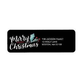 Whimsical Christmas Collection Label