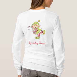 Whimsical Christmas Elf T-Shirt