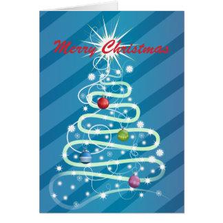 whimsical christmas greeting card