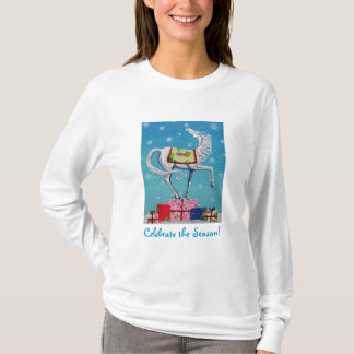 Whimsical Christmas Horse Holiday Shirt