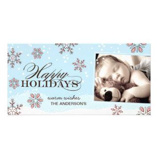 Whimsical Christmas Photo Card
