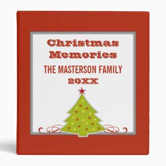 Whimsical Christmas Tree Binder (1 inch)