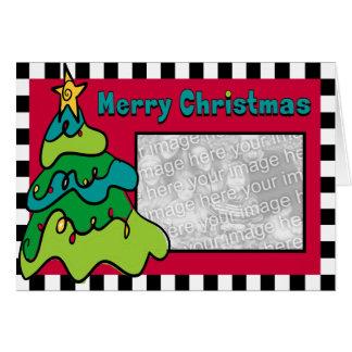 Whimsical Christmas Tree Card