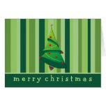Whimsical Christmas Tree Holiday Cards