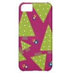 Whimsical Christmas Trees iPhone 5C Cover