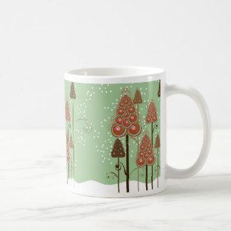 Whimsical Christmas Trees Mug