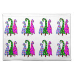 Whimsical Christmas Trees Placemats