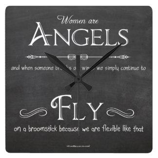 Whimsical Clock For Women