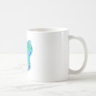 Whimsical Color Butterfly Bright Colors Coffee Mug