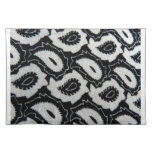 Whimsical Colorful Ornate Paisley Place Mats