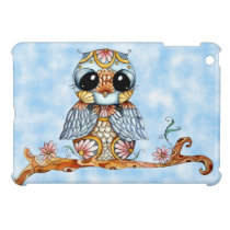 Whimsical Colorful Owl iPad Mini Savvy Case iPad Mini Cover