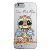 Whimsical Colorful Owl iPhone 6 Case