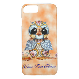 Whimsical Colorful Owl iPhone 7 Case