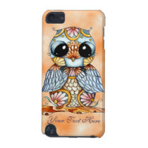Whimsical Colorful Owl iPod Touch 5g Case