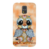 Whimsical Colorful Owl Samsung Galaxy S5 Case