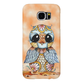 Whimsical Colorful Owl Samsung Galaxy S6 Case