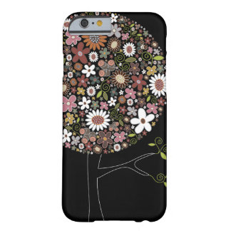 Whimsical Colorful Spring Flowers Pop Tree Nature Barely There iPhone 6 Case