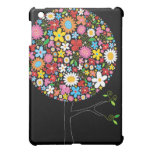 Whimsical Colorful Spring Flowers Pop Tree Nature iPad Mini Cover