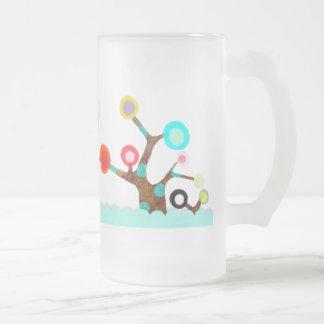 Whimsical Colorful Tree Mug