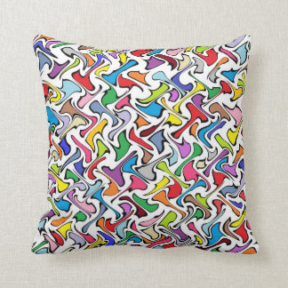 Whimsical Colors Pillow