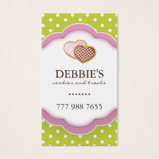 Whimsical Cookie Business Cards
