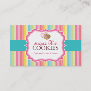 3e52c1ff8 Whimsical Cookies Business Cards
