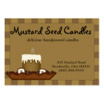 Whimsical Country Candle Business Card